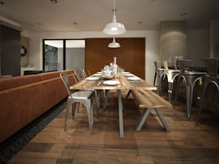 Dining room by Zono Interieur