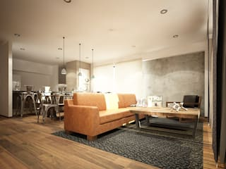 Living room by Zono Interieur