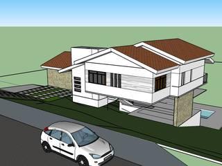 Residência Condomínio Anhandejara por Marcos Teodoro - Arquiteto