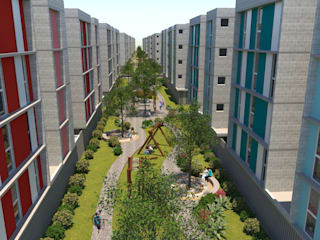 Conjunto Habitacional Sol Nascente por Marcos Teodoro - Arquiteto