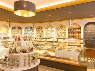 Verkaufsraum:  Gastronomie von alegroo - interior design