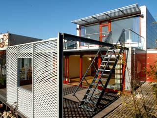 Steel Study House I:  Terras door Archipelontwerpers