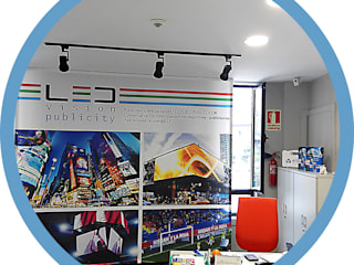 Indomotiq, Inmótica y Domótica (Zona norte) Modern study/office