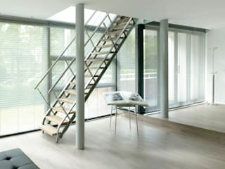 Villa Bliek - Den Haag Moderne woonkamers van Archipelontwerpers Modern