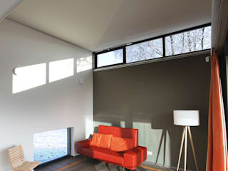 Ruang Keluarga Modern Oleh Archipelontwerpers Modern