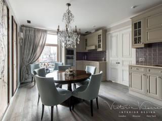 «Дом на Покровке», квартира г. Москва Кухни в эклектичном стиле от Victoria Kiorsak Эклектичный
