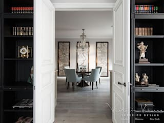 Eclectic style dining room by Victoria Kiorsak Eclectic