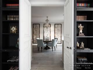 «Дом на Покровке», квартира г. Москва Столовая комната в эклектичном стиле от Victoria Kiorsak Эклектичный