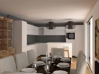 Aménagement maison (91): Cuisine de style de style Moderne par Agence Delphine Coipel