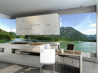3. GLASBILDER IN DER KÜCHE Moderne Küchen von Mitko Glas Design Modern