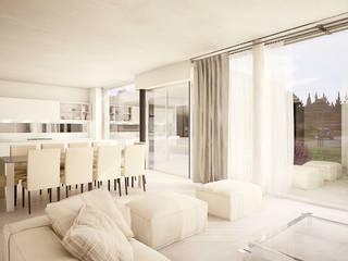 vivienda unifamiliar en ing. maschwitz: Casas de estilo  por 253 ARQUITECTURA,Moderno
