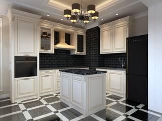 ЖК Триумф, проект 2-комнатная квартира: Кухни в . Автор – Творческая мастерская Твердый Знак