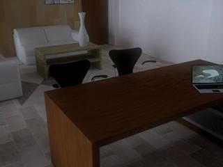 office_K: Studio in stile  di Francesca Di Giannantonio_Architetto, Moderno