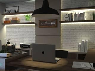 Escritório: Espaços comerciais  por INOVE ARQUITETURA