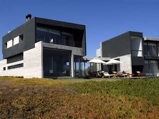 Dx Arquitectos Moderner Balkon, Veranda & Terrasse
