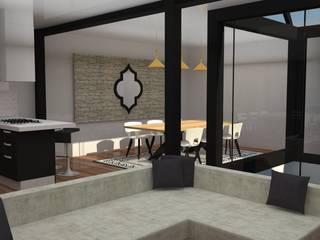 VIVIENDA MODERNISTA : Salones de estilo  de MTD studio and design