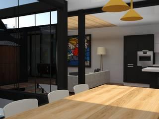 VIVIENDA MODERNISTA Comedores de estilo moderno de MTD studio and design Moderno