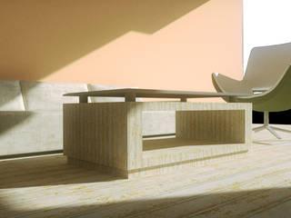 living_new retrò:  in stile  di Francesca Di Giannantonio_Architetto, Moderno