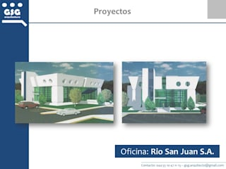 by GSG Arquitectura Sa de CV Modern