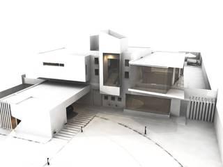 CASTELLINO ARQUITECTOS (+) 現代房屋設計點子、靈感 & 圖片 鐵/鋼 White