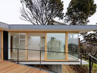 KRAMPON 荒谷省午建築研究所/Shogo ARATANI Architect & Associates 別荘 無垢材 木目調