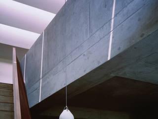 宮山台の家 荒谷省午建築研究所/Shogo ARATANI Architect & Associates モダンスタイルの 温室 コンクリート 白色