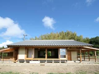 木造伝統構法の日本家屋「鴨川の家」: 木造伝統構法 惺々舎が手掛けた木造住宅です。,