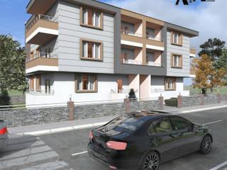 alfa mimarlık – Mehmet Gürlek: modern tarz Evler