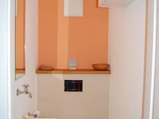 Gäste - WC Minderjahn die Badgestalter Mediterrane Badezimmer Holz