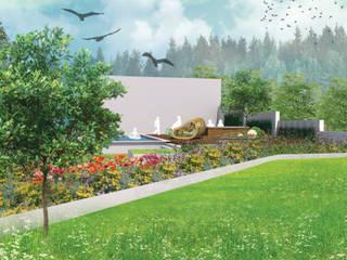 Projekt ogrodu w Jaworzynce: styl , w kategorii  zaprojektowany przez pani.be