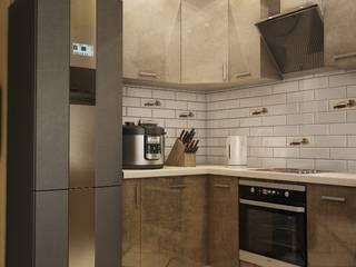 Дизайн-проект в современном стиле: Кухни в . Автор – Викма Дизайн