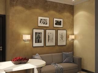Дизайн-проект в современном стиле: Гостиная в . Автор – Викма Дизайн