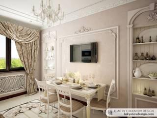 КЛАССИЧЕСКИЙ ПОДХОД : Столовые комнаты в . Автор – Dmitry Lukyanov
