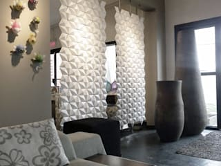TWO ROOM DIVIDERS COMBINED: TWICE AS NICE de Bloomming Moderno