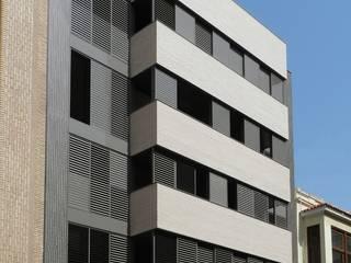 Edificio de Viviendas Casas de estilo moderno de gmg arquitectos Moderno
