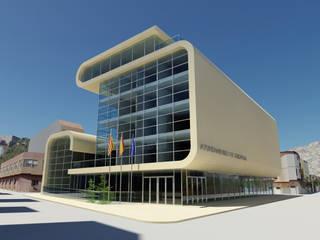 Ayuntamiento de Oropesa Casas de estilo moderno de gmg arquitectos Moderno