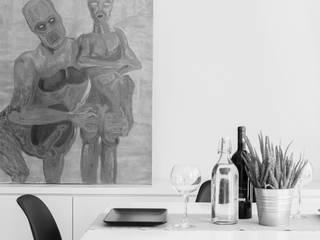 Living room by OKS ARCHITETTI, Minimalist