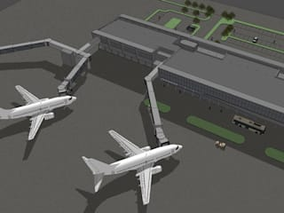 Bandara Radin Inten Lampung MODULA Lapangan terbang