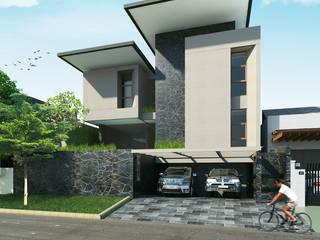 Canvas House MODULA Rumah tinggal