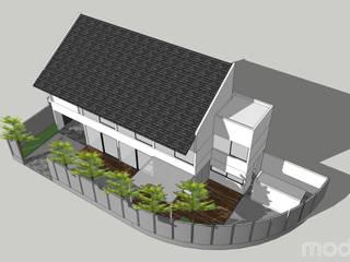 E-Co House MODULA Rumah tinggal