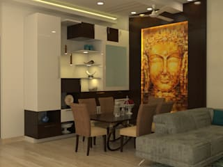 Dining Area:  Living room by Prodigy Designs