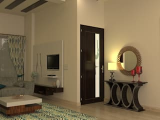Entrance Area:  Living room by Prodigy Designs