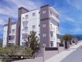 Edifício Residencial: Casas  por Vila Real Design Arquitetônico e Engenharia,Clássico