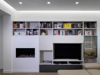 Casa FD Soggiorno moderno di Giulia Villani - Studio Guerra Moderno