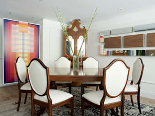 Pic & Deco Eclectic style dining room Wood effect