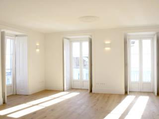 Apartamento em Lisboa - Centro Salas de estar modernas por Archimais Moderno