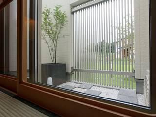 中庭 光庭 : やまぐち建築設計室が手掛けた枯山水です。,
