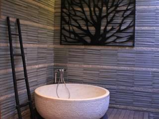Private villa Kamar Mandi Tropis Oleh Kottagaris interior design consultant Tropis