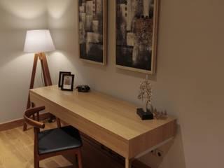 Ms San San private bedroom Kamar Tidur Tropis Oleh Kottagaris interior design consultant Tropis