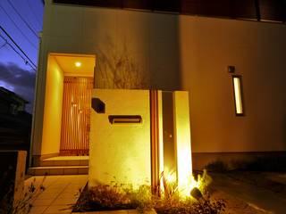 (仮称)シンプルモダンのコートハウス: やまぐち建築設計室が手掛けた家です。